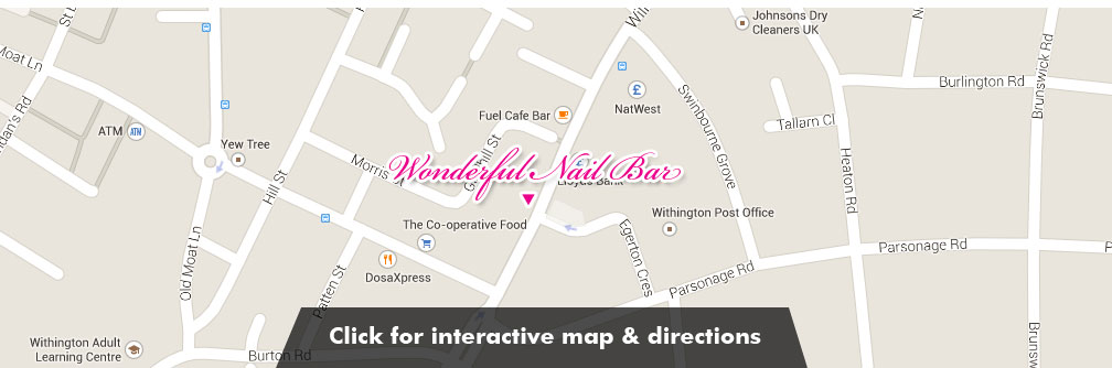 Wonderful Nail Bar - Find us in Withington